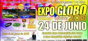 Expo Globo 2018 se realizara el 24 de junio en Lomas de Zamora