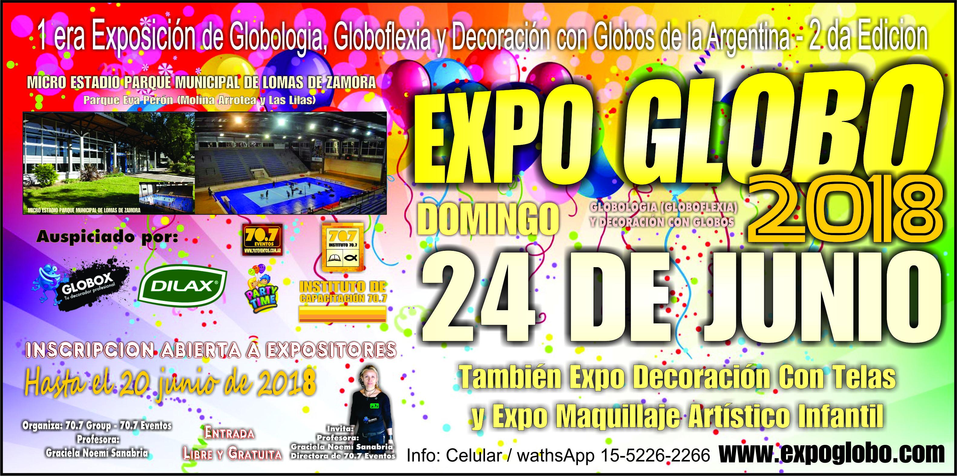 Expo Globo – 1 era Exposición de Globos de la República Argentina