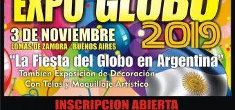 Ya se Abrió la Inscripción a EXPO GLOBO 2019